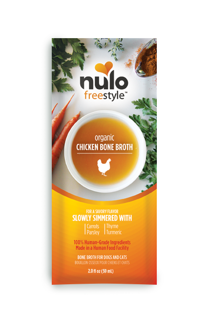 Nulo Freestyle Chicken Bone Broth Topper for Pets