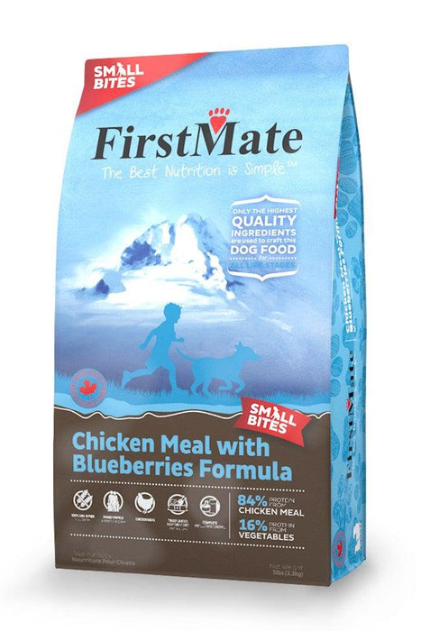 FirstMate Small Bites Chicken with Blueberries Dry Dog Food