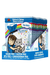B.F.F. Omg Ciao Baby Chicken & Shrimp Cat Food Pouch