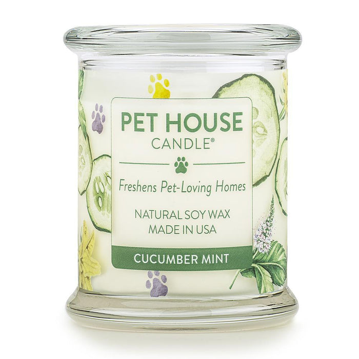 Pet House Candle Cucumber Mint