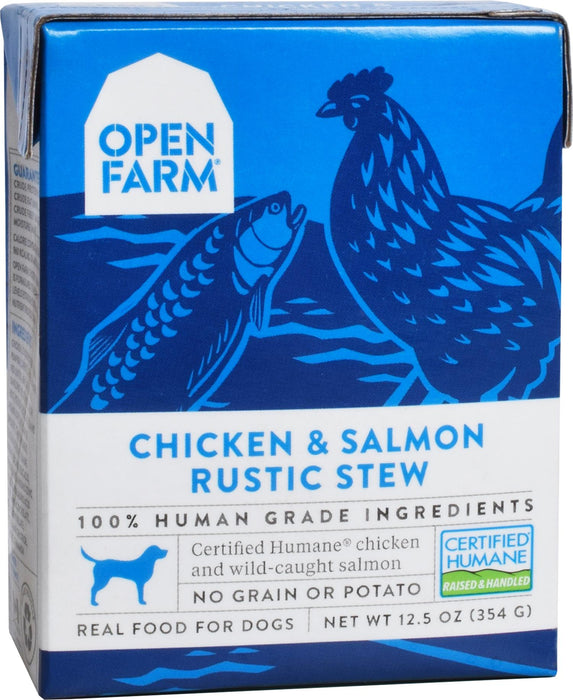 Open Farm Chicken & Salmon Wet Dog Food