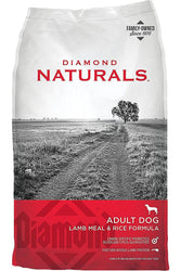 Diamond Naturals Adult Dog Lamb Meal & Rice Formula Dry Dog Food
