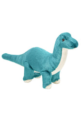 Fluff and Tuff Ross Brachiosaurus stuffed Dog Toy