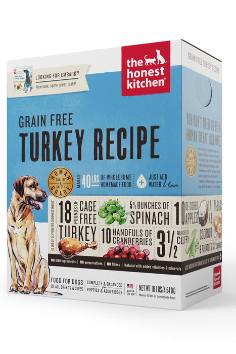 The Honest Kitchen Grain Free Turkey Dog Food