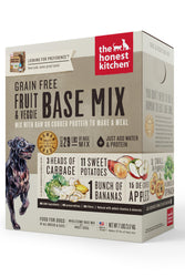The Honest Kitchen Fruit & Veggie Dog Food Base Mix