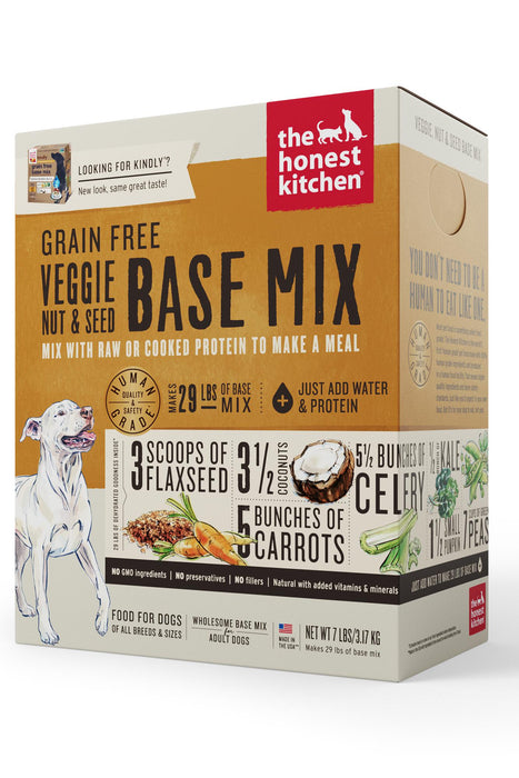 The Honest Kitchen Grain-Free Veggie, Nut, & Seed Dog Food Base