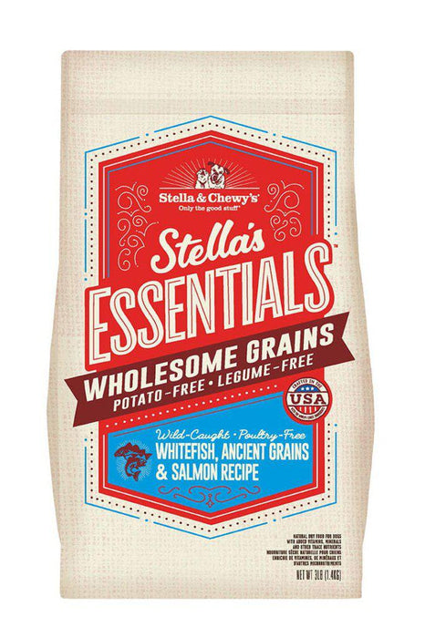 Stella and Chewy's Essentials Whitefish & Salmon Dry Dog Food