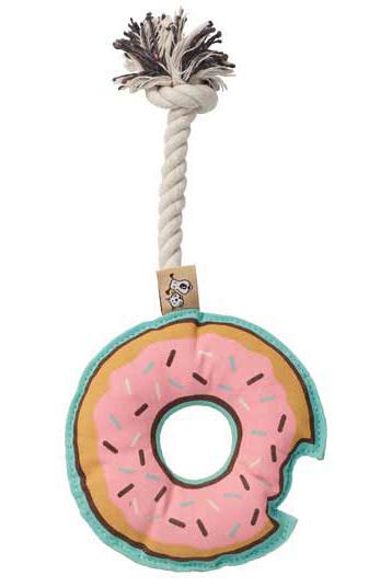 Ore' Pet Donut Rope Dog Toy