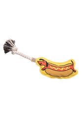 Ore' Pet Hot Dog Rope Dog Toy