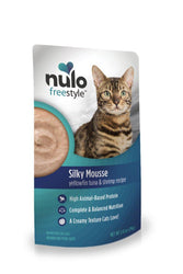 Nulo Freestyle Silky Mousse Yellowfin Tuna & Shrimp Cat Food Pouch