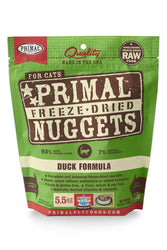 Primal Freeze Dried Nuggets Duck Cat Food