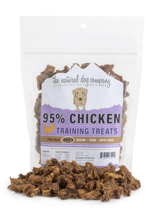 Natural Dog Co. Chicken Training Bites Dog Treats