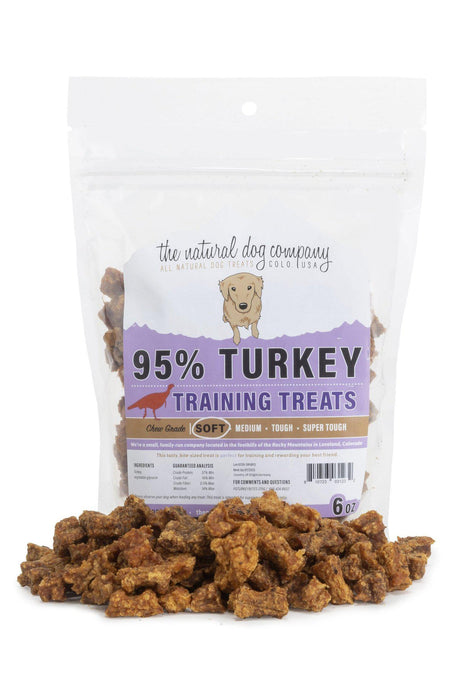 Natural Dog Co. Turkey Training Bites Dog Treats