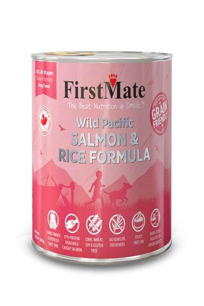 FirstMate Salmon with Rice Canned Dog Food