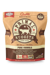 Primal Feline Pork Frozen Raw Cat Food
