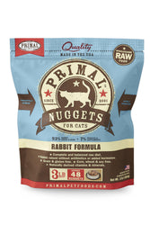 Primal Feline Rabbit Frozen Raw Cat Food