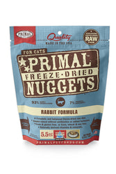 Primal Freeze Dried Nuggets Rabbit Cat Food