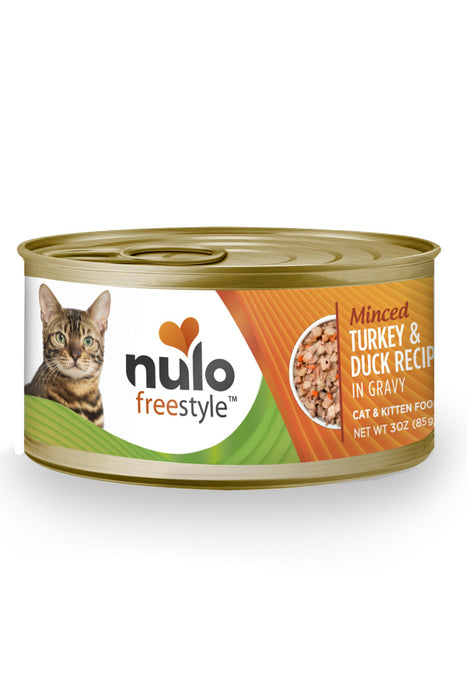 Nulo Freestyle Minced Turkey & Duck Cat Food