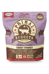 Primal Feline Turkey Frozen Raw Cat Food