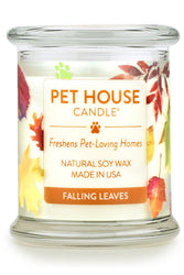 Pet House Candle Falling Leaves, 8.5 oz
