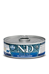 Farmina N&D Cod, Shrimp & Pumpkin Canned Cat Food