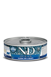 Farmina N&D Salmon, Codfish & Shrimp wet Cat Food