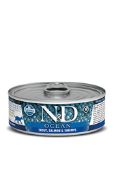 Farmina N&D Trout, Salmon & Shrimp Canned Cat Food