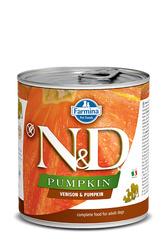 Farmina N&D Venison & Pumpkin wet Dog Food