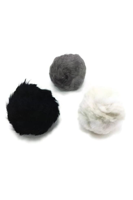 Go Cat Rattle Fur Ball Cat Toy