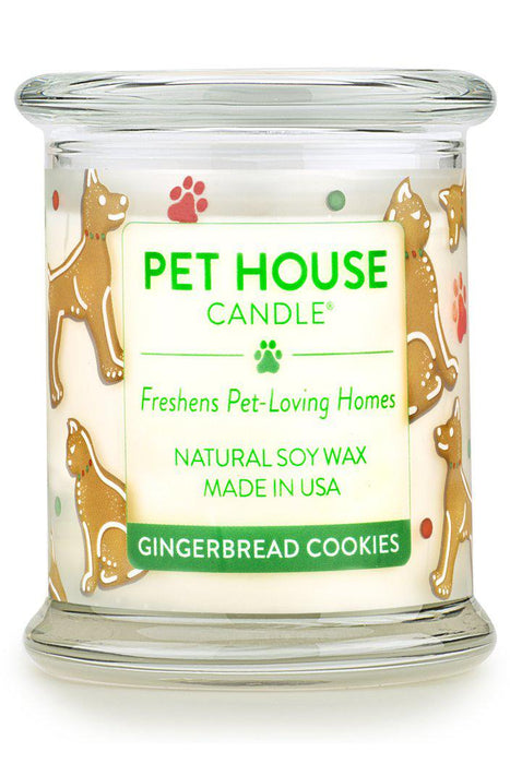 Pet House Candle, Gingerbread Cookies