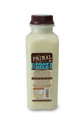 Primal Raw Goat's Milk Frozen Supplement for Pets, 16 oz