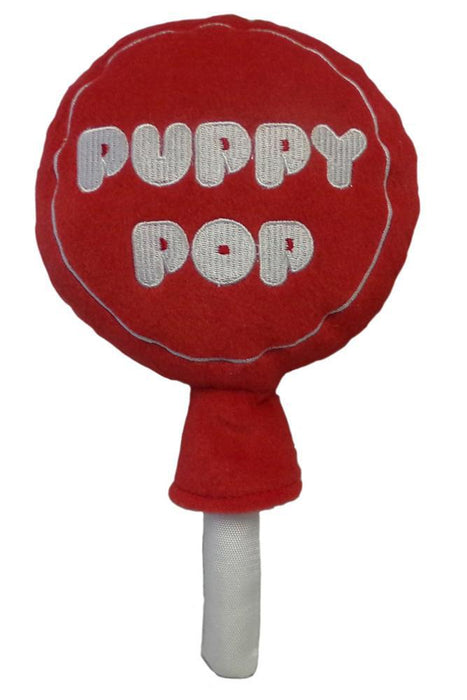 Lulubelles Power Plush Puppy Pop Candy Dog Toy
