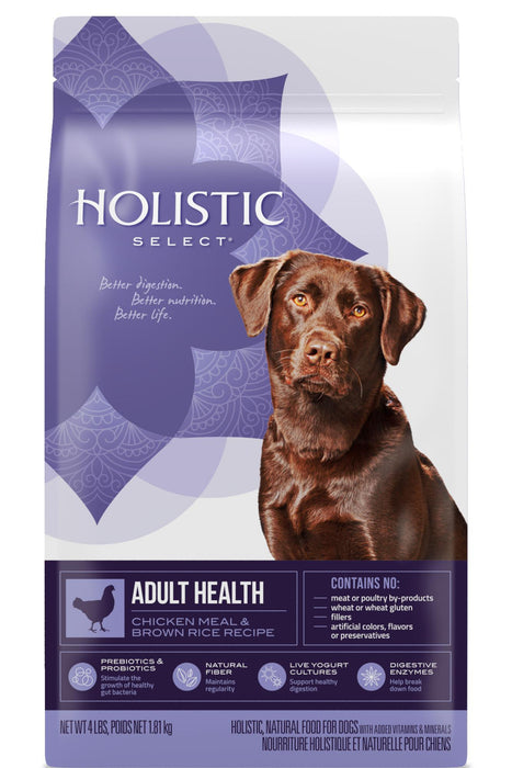 Holistic Select Adult Health Chicken Meal & Rice Recipe Dry Dog Food