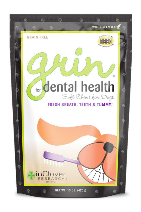 InClover Grin Dental Dog Supplement