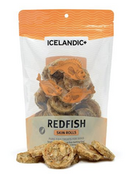 Icelandic+ Redfish Skin Rolls Dog Treats