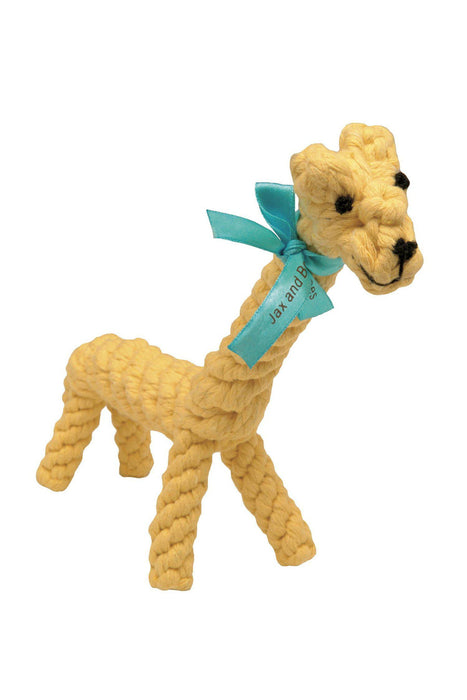 Jax & Bones Jerry the Giraffe Rope Dog Toy