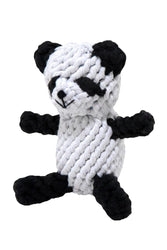 Jax & Bones Petey the Panda Rope Dog Toy