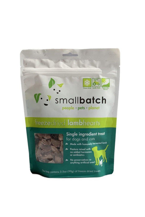 Small Batch Freeze-Dried Lamb Heart Dog Treats