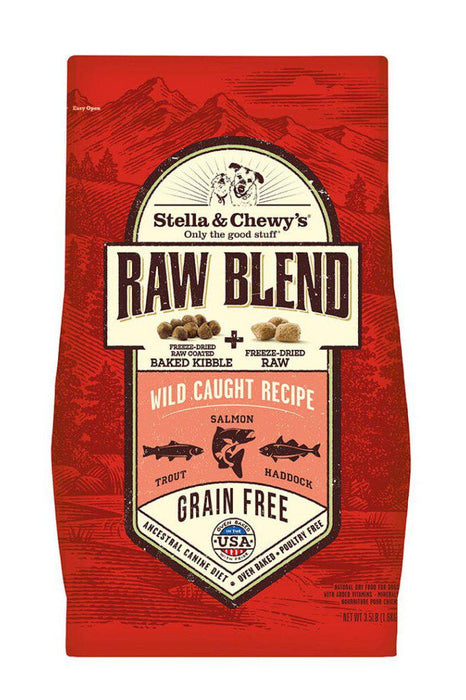 Stella and Chewy's Raw Blend Wild Caught Dry Dog Food