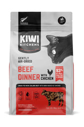 Kiwi Kitchens Beef and Chicken Air Dried Cat Food