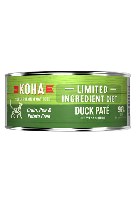Koha 96% Duck Pate Canned Cat Food