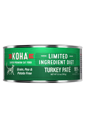 Koha 96% Turkey Pate Canned Cat Food