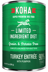 Koha Turkey Entree Canned Dog Food