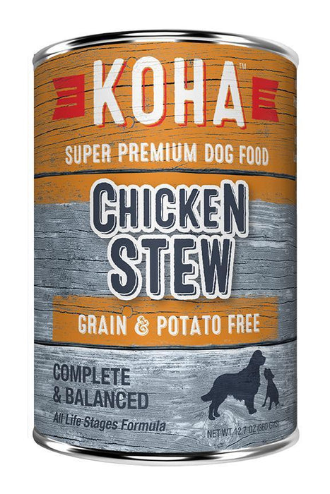 KOHA Chicken Stew Canned Dog Food