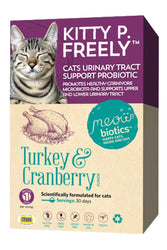 Meowbiotics Kitty P Freely Urinary Tract Probiotic Supplement For Cats