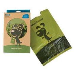 Earth Rated Unscented Handled Poop Bags