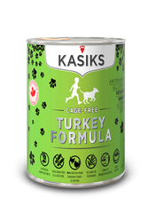 Kasiks Cage-Free Turkey Canned Dog Food