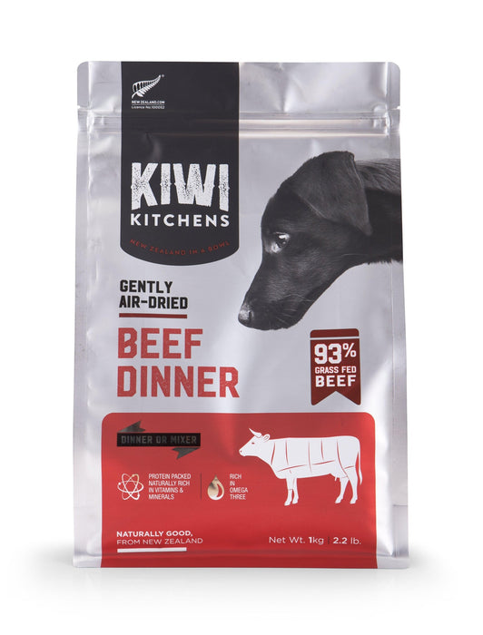 Kiwi Kitchens Air Dried Beef Dog Food