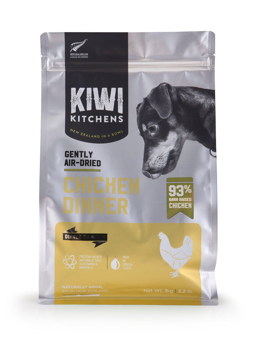 Kiwi Kitchens Air Dried Chicken Dog Food