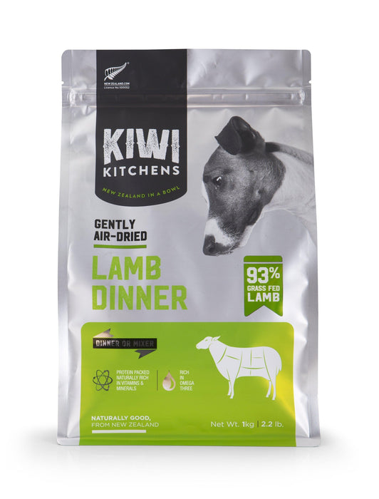 Kiwi Kitchens Air Dried Lamb Dog Food